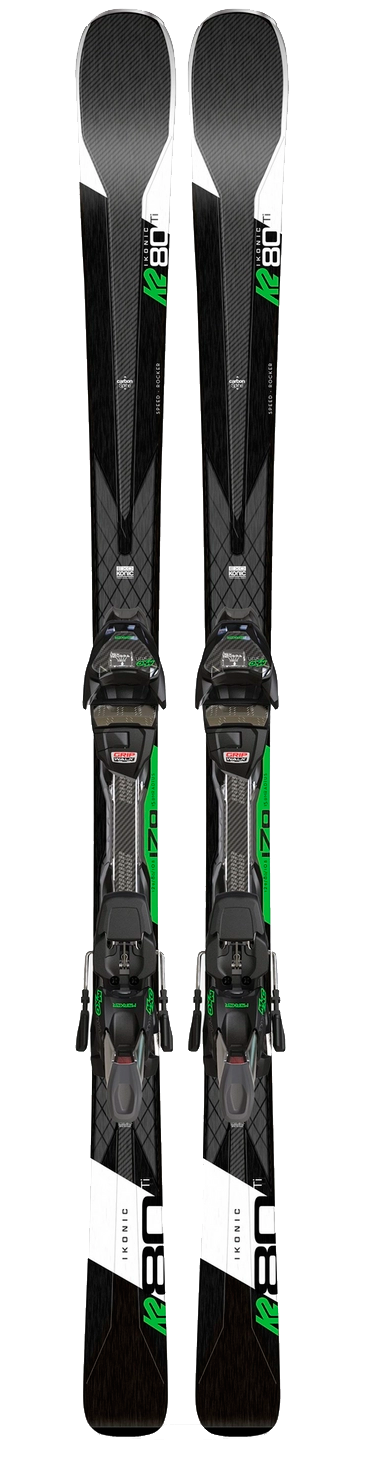 K2 iKonic 80Ti + MXC 12 TCx Light Quikclik