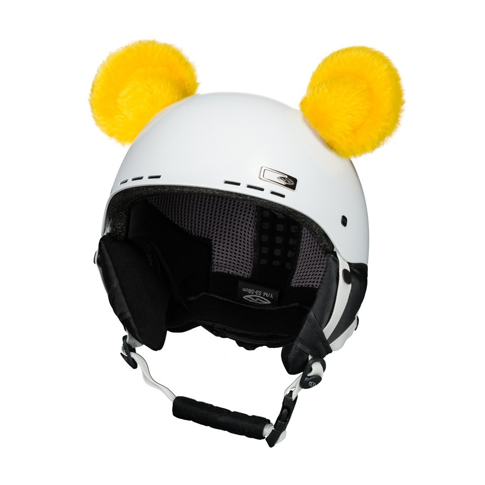 crazy uši medvídek žlutý