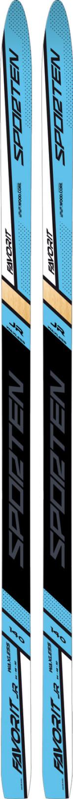 juniorskéběžecké lyže Sporten Favorit 54Wax JR