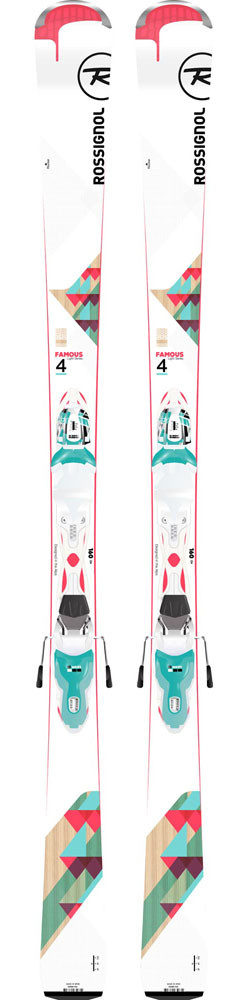 Rossignol Famous 4 + Xpress W 10
