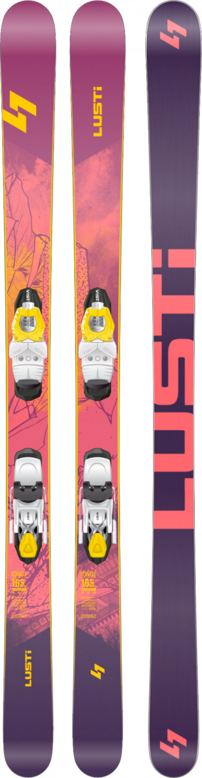 Lusti Iono + VIST VSP 310 + deska SPEEDSPACER
