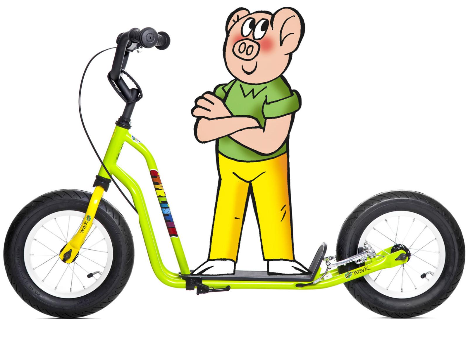 Yedoo Čtyřlístek Mini Bobík - zelená