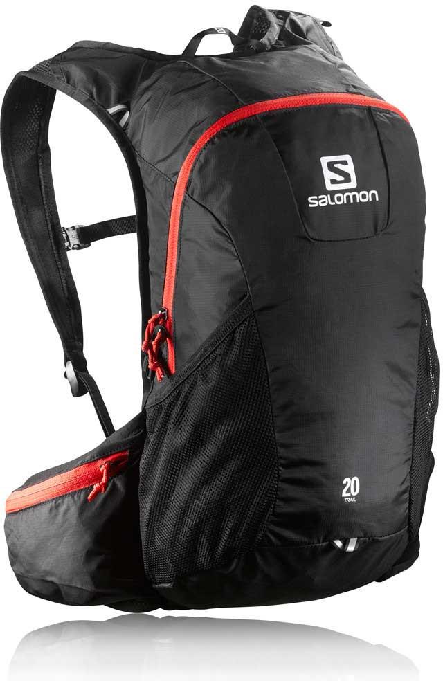 Salomon Trail 20 - černá/červená, 20l