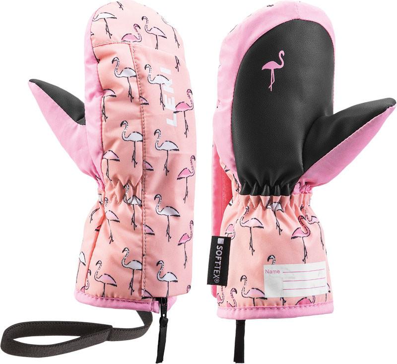 dětskélyžařskérukavice LekiLittle Flamingo Zap Mitt
