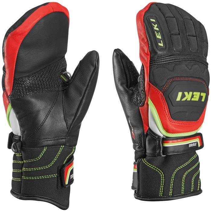 kožené lyžařské palčákové rukaviceLeki Worldcup Race Flex SJunior Mitten