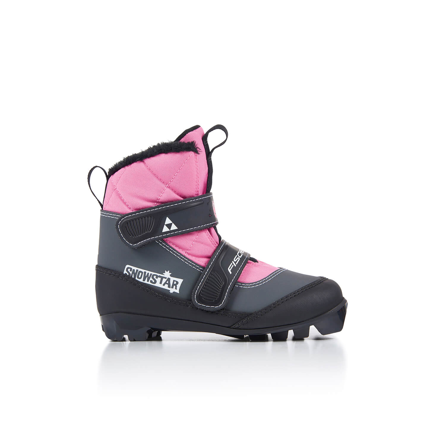 dětské běžecké boty Fischer Snowstar Pink
