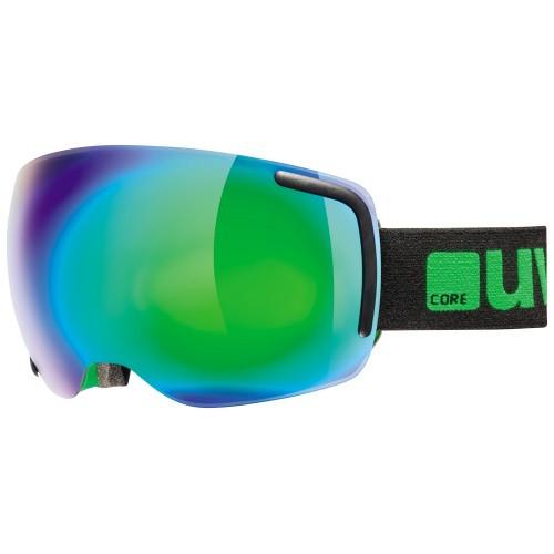 Uvex lyžařské brýle Big 40 FM - černá/zelená