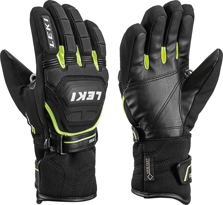 závodní lyžařské rukavice Leki Worldcup Race Coach Flex S GTX Junior