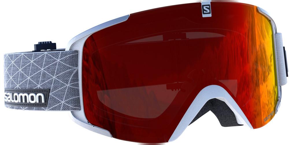 Salomon X View - bílá/červená