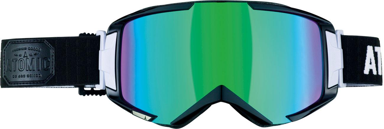 lyžařské brýle Atomic Savor3 černá zelená