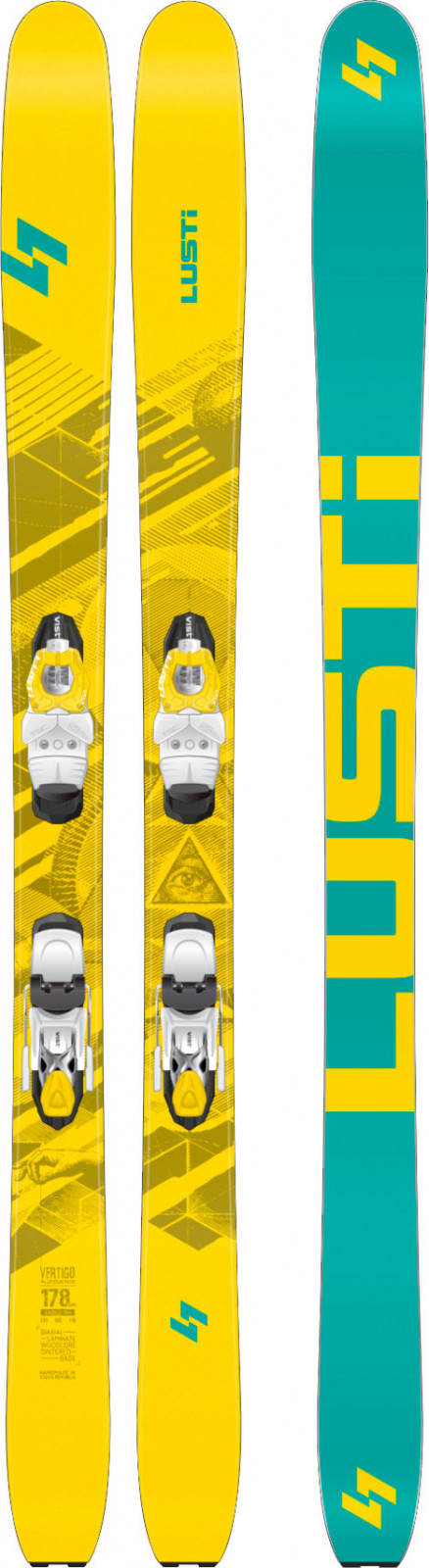 Lusti Vertigo + VIST VSP 412 + deska SPEEDSPACER