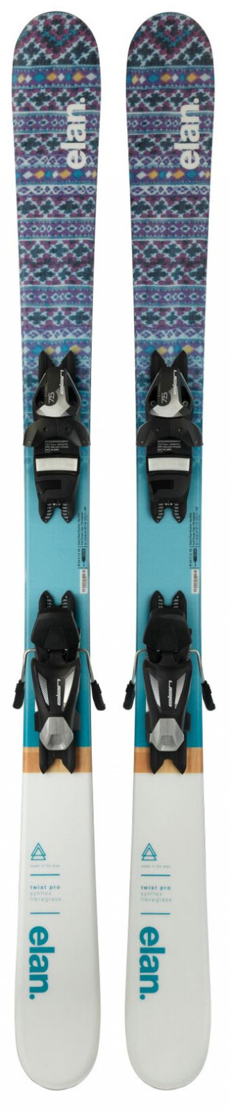juniorskéfreestyle lyže ElanTwist Pro Quick Shift