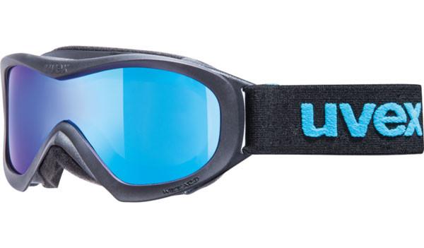lyžařské brýle UVEX Wizzard DL mirror černá/modrá