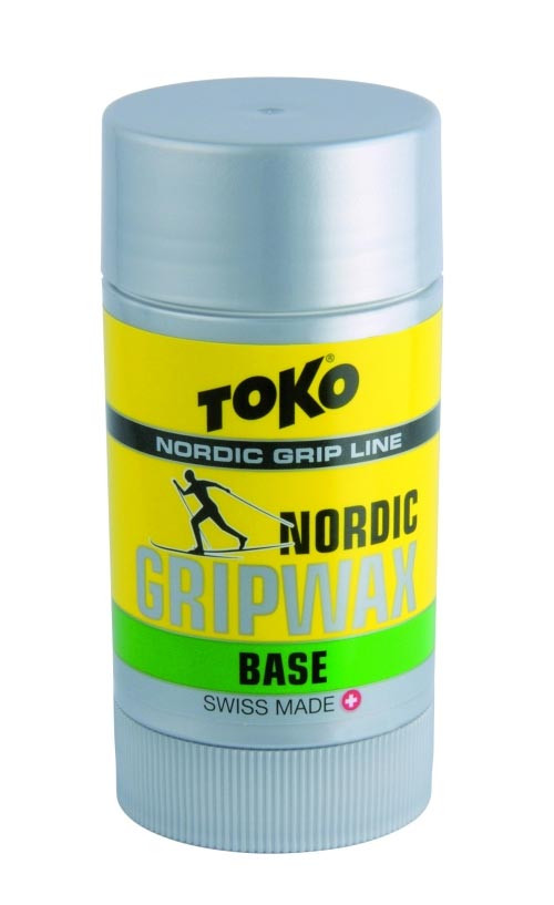 stoupací vosk TOKO Nordic Base GripWax green