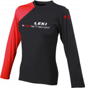 dámské triko s krátkým rukávem Leki Longsleeve Red Ladies