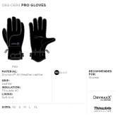 rukavice Pro - černá