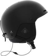 lyžařská helma Salomon Brigade+ Audio