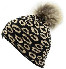 Čepice Blizzard Leopard