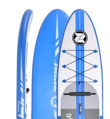 "Zray Touring A2 10'6""- 32"" - bílá/modrá"