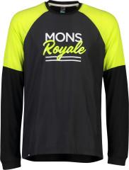 merino triko Mons Royale TARN FREERIDE LS WIND JERSEY
