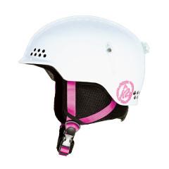 Juniorská lyžařská helma K2 Illusion bílá