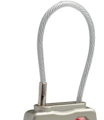 zámek Pacsafe Prosafe 800 Combination Cable Padlock