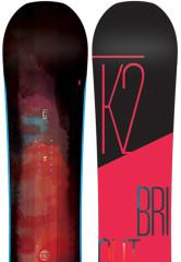 Univerzální dámský snowboard K2 Bright Lite