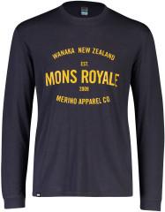 Merino triko Mons Royale Icon LS
