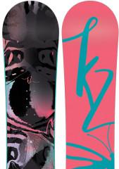 juniorský snowboard K2 Vandal
