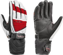 Sportovní sjezdové rukaviceLeki Griffin S– červená.