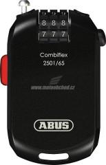 lankový zámek ABUS 2501/65 CombiFlex s číselným kódem - černá