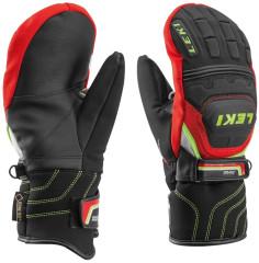 Lyžařské rukavice Leki Worldcup Race Coach Flex S GTX Jr. Mitte