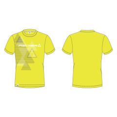 pánské triko Fischer Bromont - žlutá