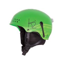 Juniorská lyžařská helma K2 Entity zelená