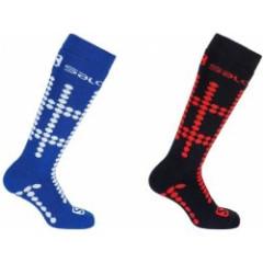 lyžařské ponožky Salomon Team Jr 2 Pack