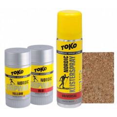 sada stoupacích vosků Toko Nordic Set