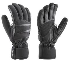 Dámské lyžařské komfortní rukavice Leki Core Lady black - černé