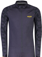merino overal Mons Royale Supermons 3/4 One Piece