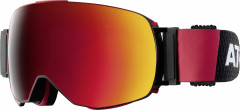 Lyžařské brýle atomic_REVENT_Q_ML_BLACK_RED
