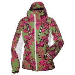 Halti Dámská lyžařská bunda TANJA - print zelená