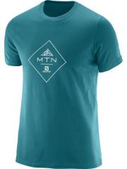 Bavlněné triko s potiskem Salomon MTN