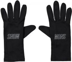 Volta Glove Liner - black / reflective