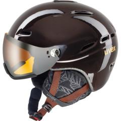 dámská lyžařská helma Uvex HLMT 200 WL černá