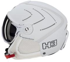 H3 Soft Aero Bianco Swa. + štít VTS1W