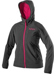 dámská softshell bunda Leki Softshell Jacket Hooded Woman