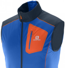 Softshellová vesta Salomon Equipe Softshell Vest