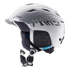 lyžařská helma Marker 16740405_AMPIRE_MEN_2BLOCK_WHITE_GREY