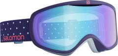 lyžařské brýle salomon_390781_0_U_SENSE_BK POLKA-LOLIGHT L BLUE