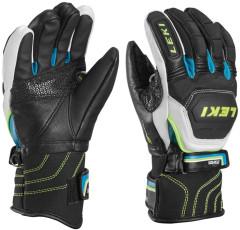 Celokožené juniorské lyžařské rukavice Leki Worldcup Race Flex S Junior