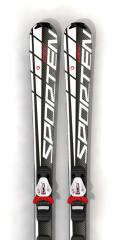 rekreační sjezdové lyže Sporten Cobalt